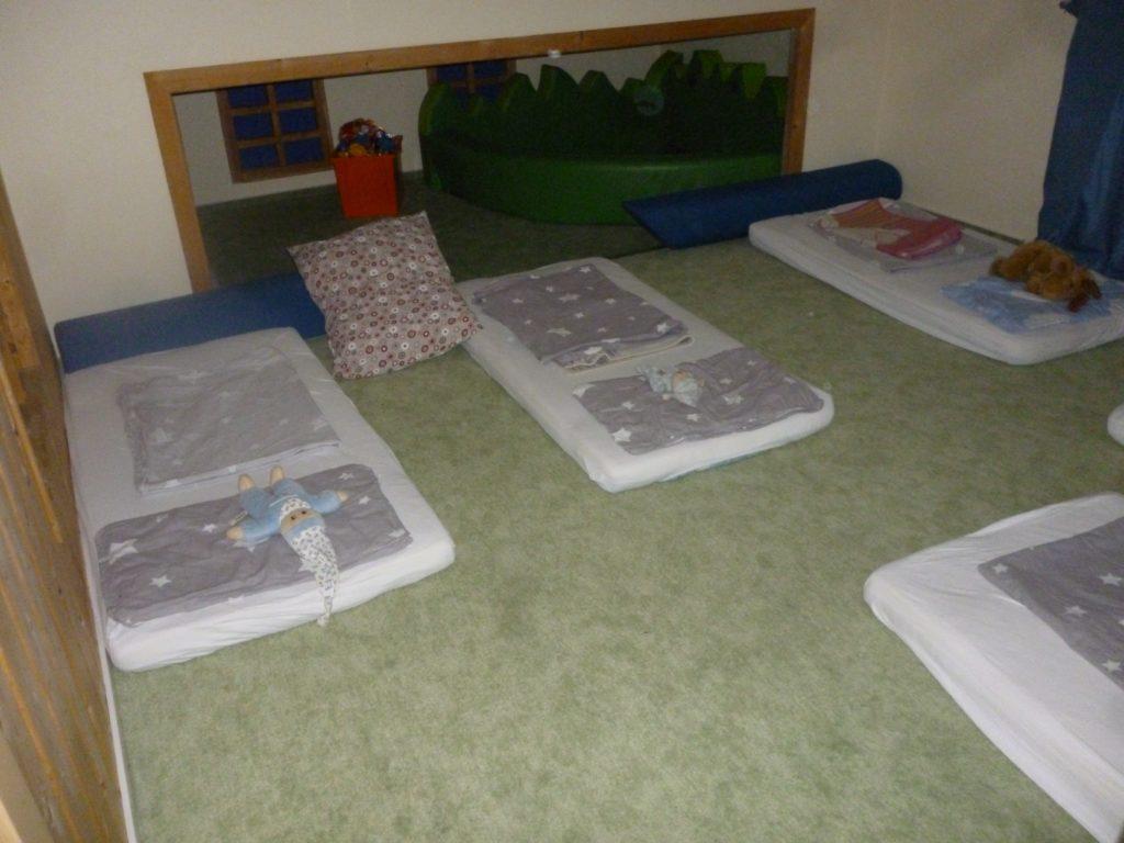 Schlafbereich Mäusegruppe 2