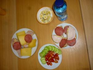 Frühstück Mäusegruppe